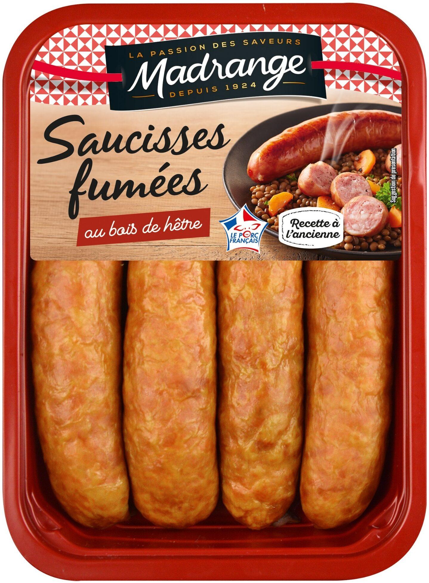 Saucisses fumées au bois de hêtre - Product - fr