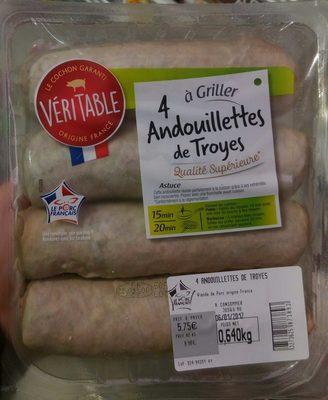 4 Andouillettes de Troyes à griller - Product - fr