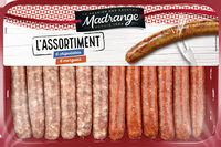 Assortiment chipolatas & merguez - Product - fr