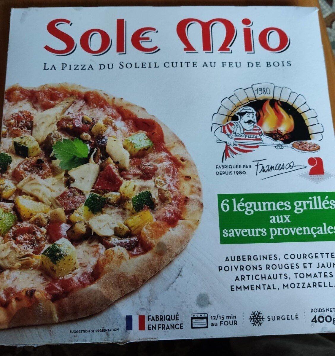 Pizza 6 légumes grillés aux saveurs provençales - Product - fr