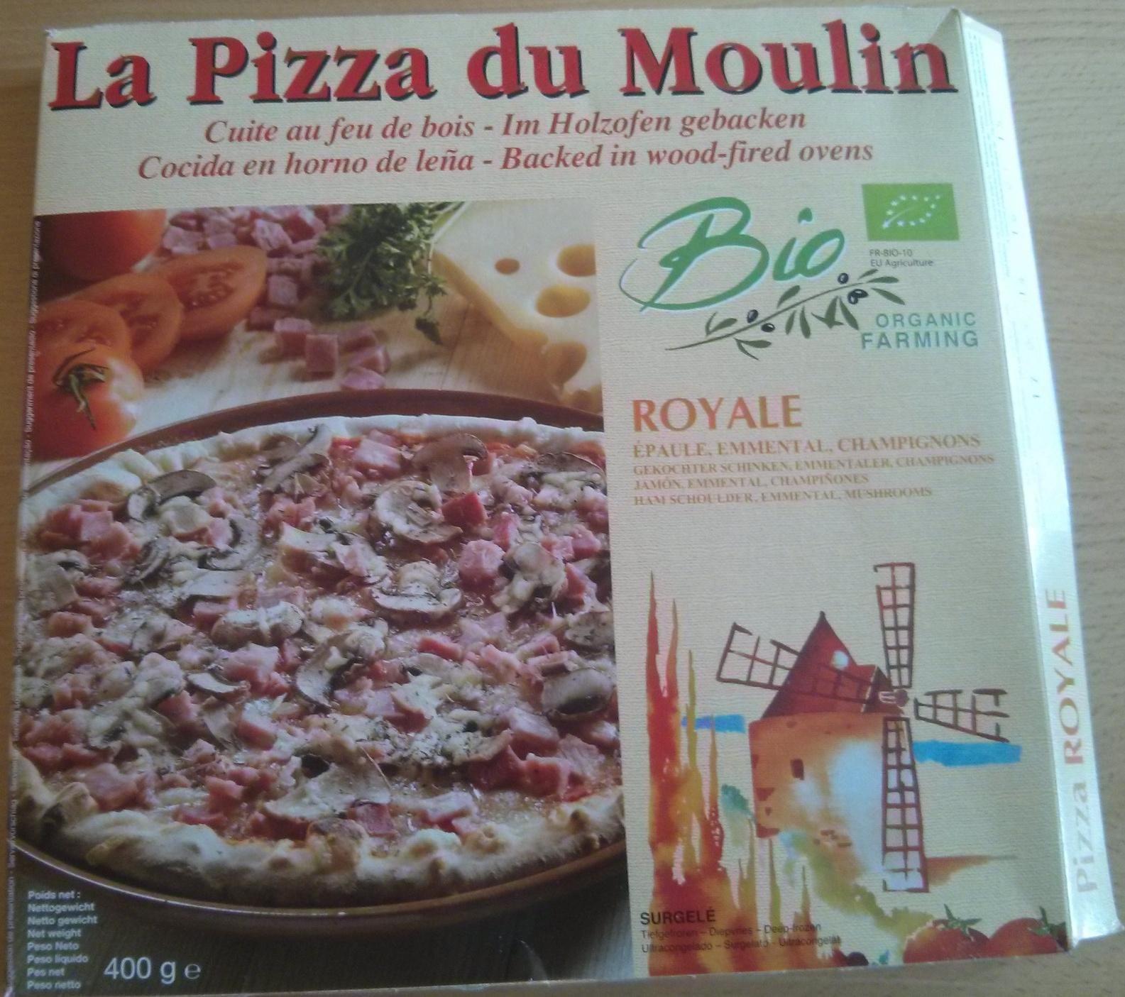 Pizza royale bio - Produit