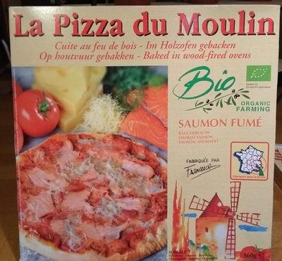 PIZZA SURGELEE SAUMON FUME - Produit - fr