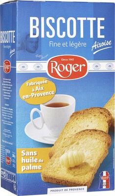 Biscottes Aixoises - Produit - fr