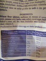ROGER - Informations nutritionnelles - fr