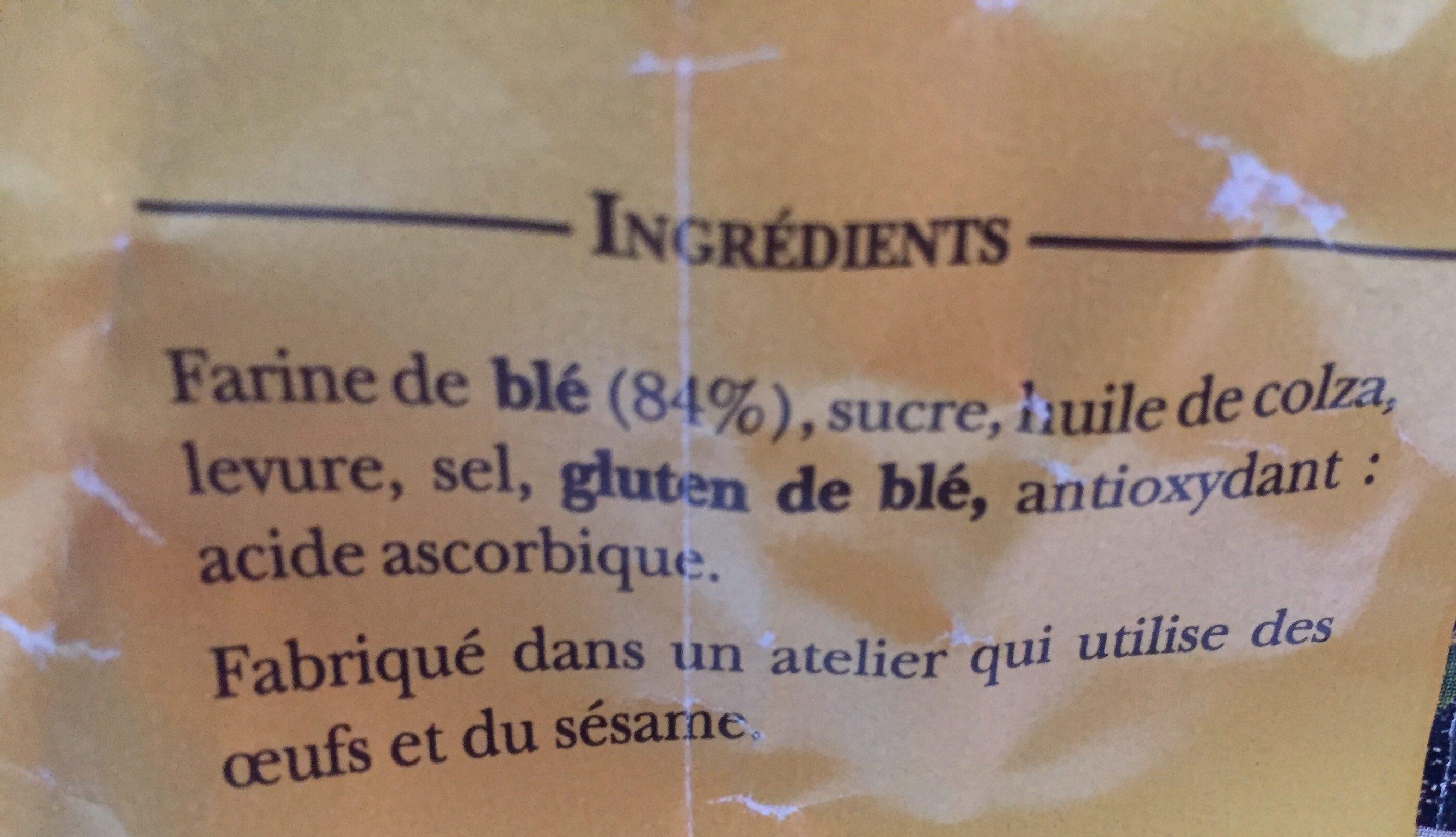 Petit grille aixois - Ingrédients - fr