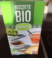 Biscotte bio dorée vegan - Produit - fr