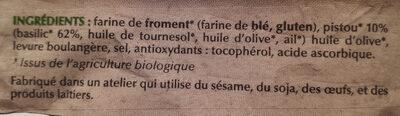 Le Toast apero - Ingredients - fr