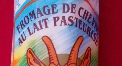 Fromage de chèvre au lait pasteurisé (23% MG) - Ingrediënten - fr