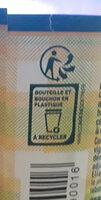 Eau gazeuse - Recyclinginstructies en / of verpakkingsinformatie - fr