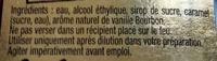 Arôme naturel de vanille - Ingredients - fr