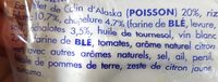 Poisson Blanc à la Bordelaise et son Riz Surgelés - Ingrediënten - fr