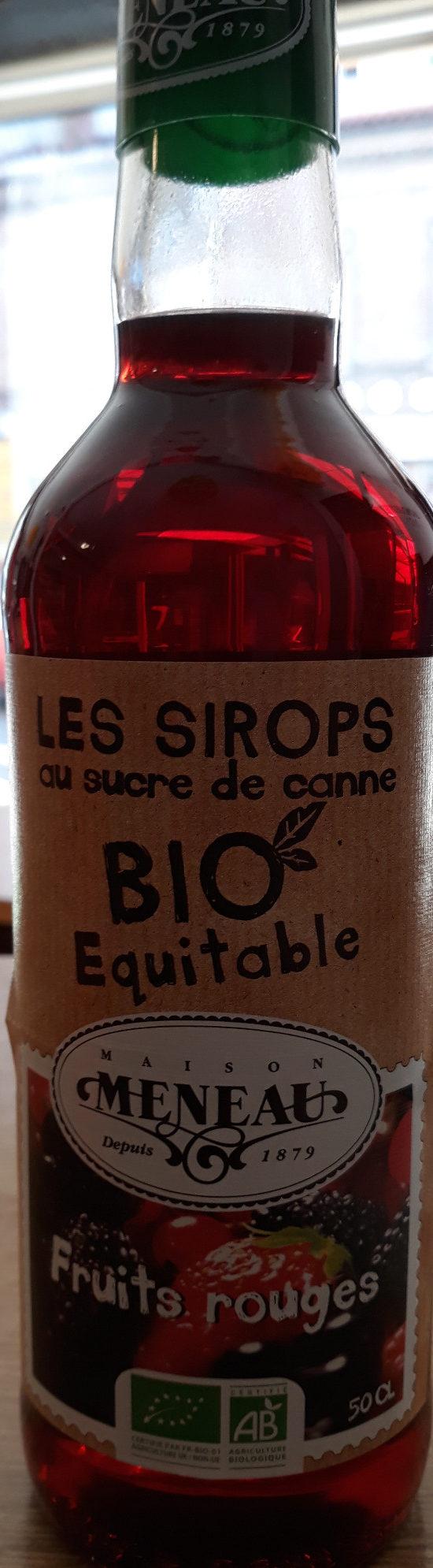 Sirop au sucre de canne - fruits rouges - Prodotto - fr