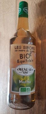 Les sirops bio équitables Menthe - Product
