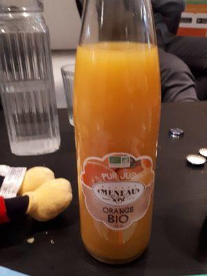 Pur Jus D Orange Bio Maison Meneau