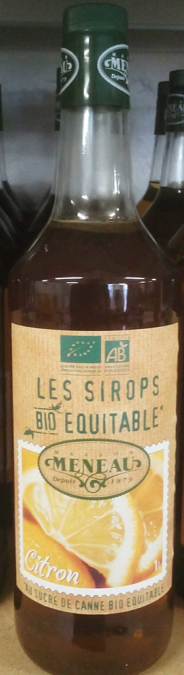 Sirop Citron - Product - fr