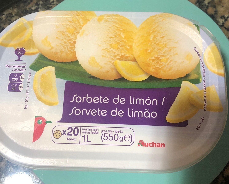 Sorbeye de limon - Product - es