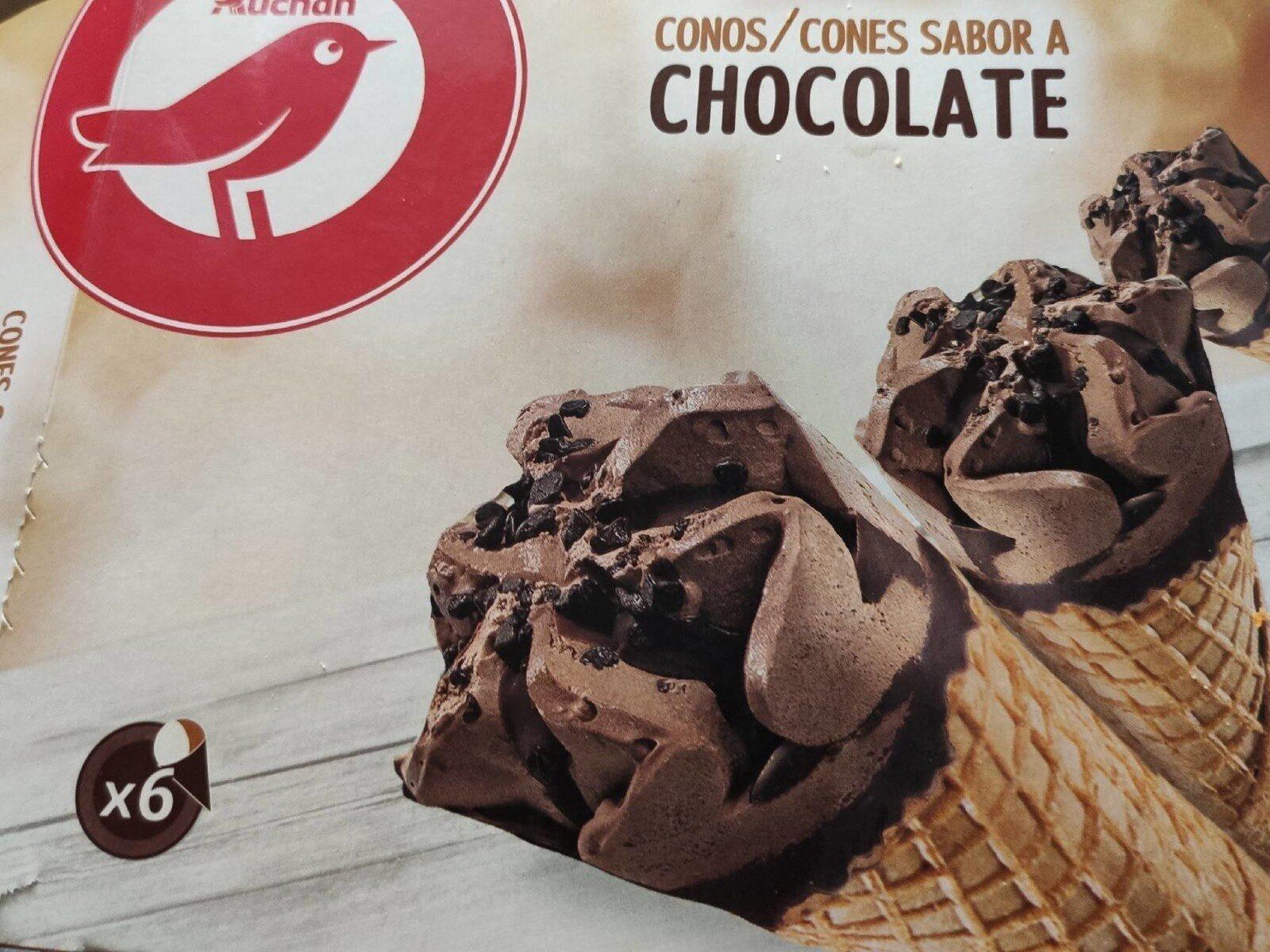 Cono sabor chocolate - Producto