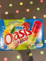 So Pop, Sorbet tropical fraise pomme ananas framboise - Product