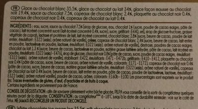 Exquise 3 chocolats - Ingrédients - fr