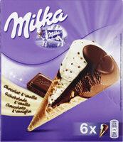 Cônes chocolat & vanille - Produit - fr