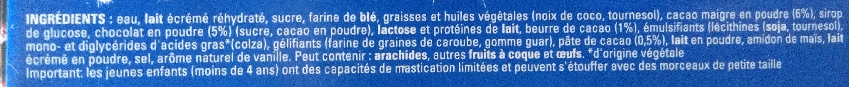Extrême chocolat défendu - Ingrediënten - fr