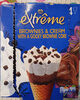 extreme brownies & cream - Produit