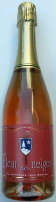 Fleur des neiges vin mousseux rosé muscat - Product