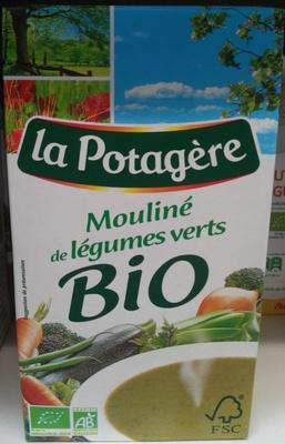 Mouliné de légumes verts bio - Product