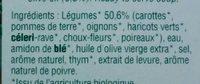 Velouté de Légumes Variés - Ingrediënten - fr