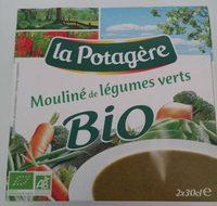 Mouline Legumes Verts Bio La Potagere - Product - fr