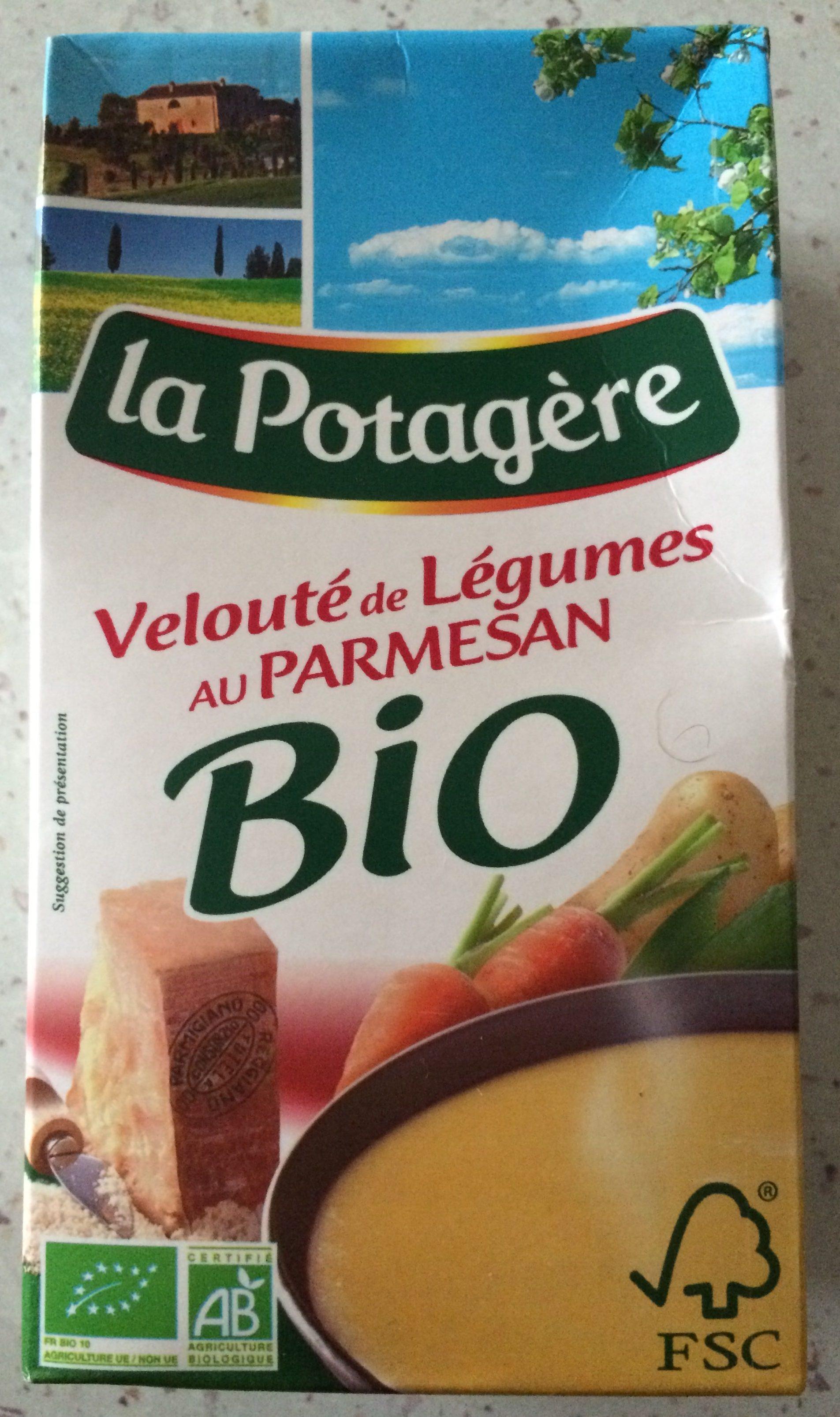 Velouté de legumes au parmesan Bio - Produit - fr