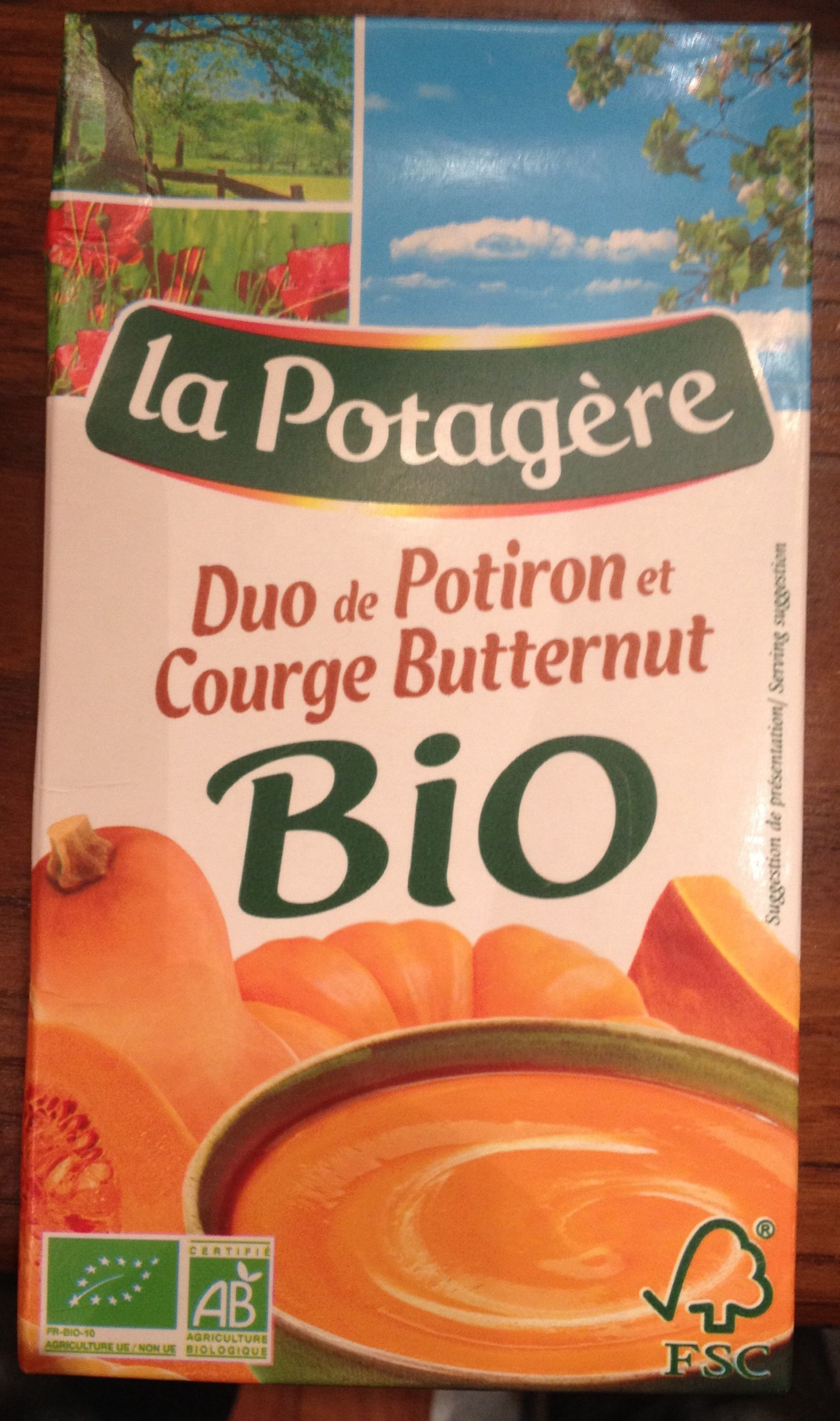 Duo de Potiron et Courge Butternut bio - Product - fr