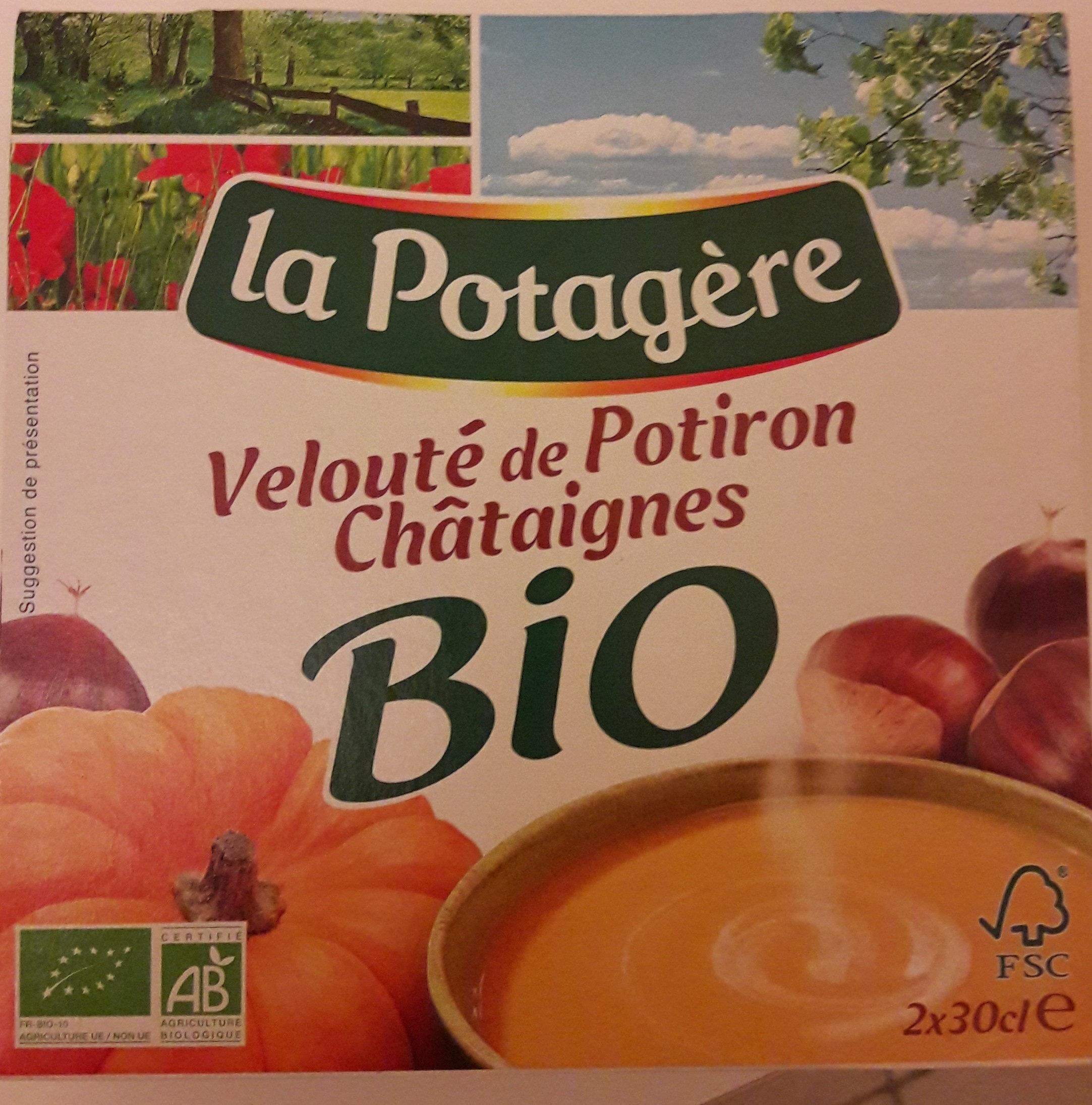 Velouté de Potiron Châtaignes Bio - Produit