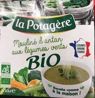 Mouliné d'antan aux legumes verts bio - Product
