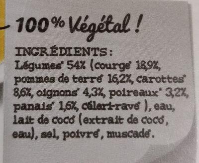 Soupe  Légumes de France - Ingrédients - fr