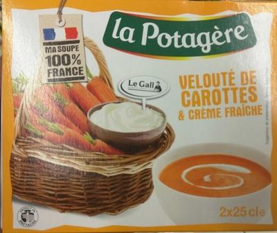 Velouté de Carottes & Crème Fraiche - Produit