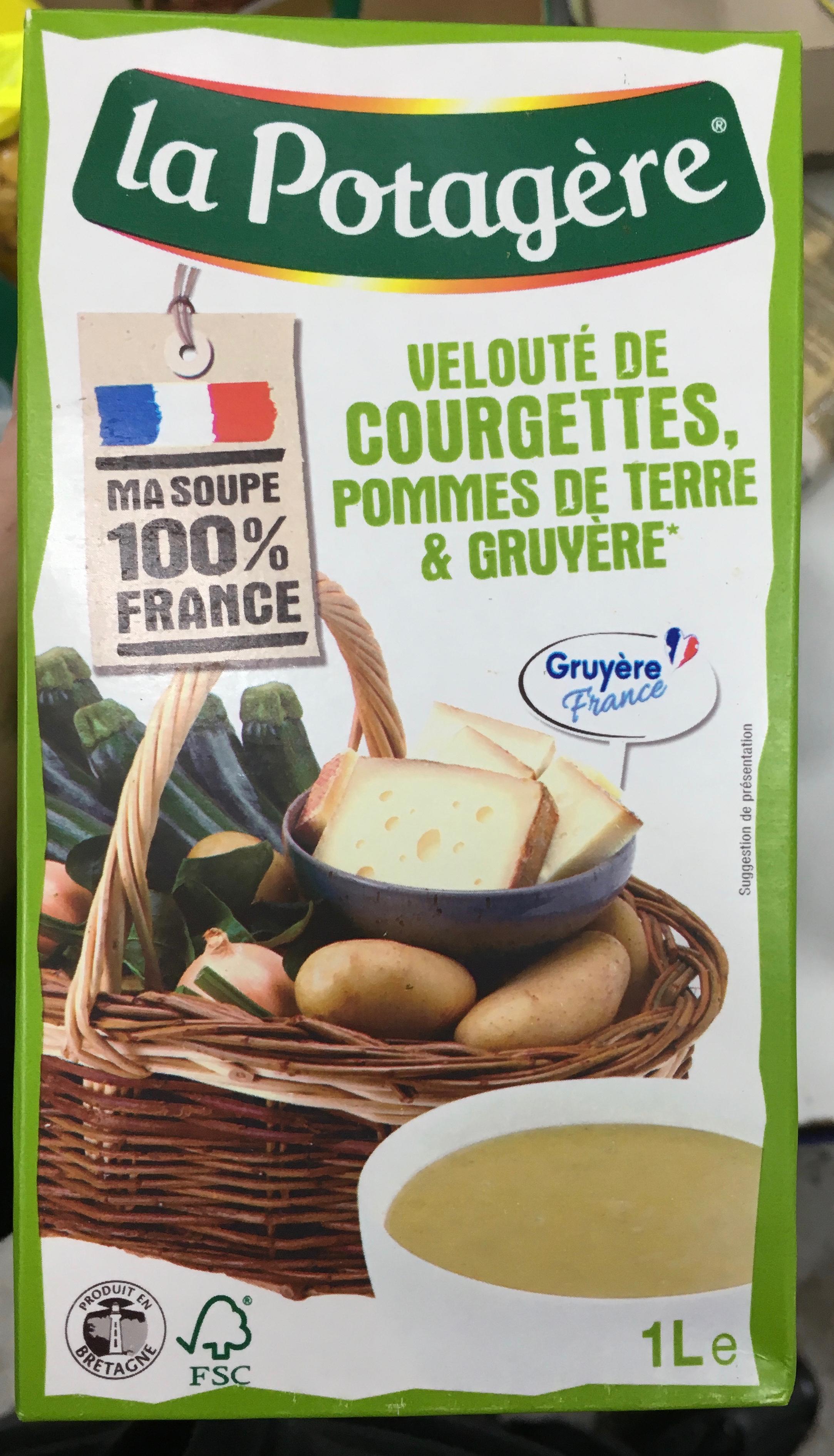 Velouté de courgettes, pommes de terre & gruyère - Product - fr