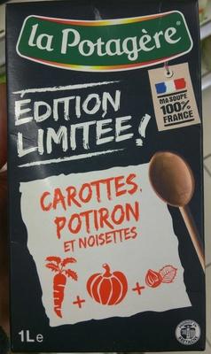 Carottes Potiron et Noisettes EDITION LIMITEE ! - Produit