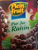 Pur jus de Raisin - Product