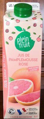 Jus De Pamplemousse Rose - Product - fr