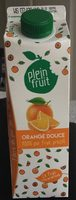Orange douce 100% pur fruit pressé - Produit - fr
