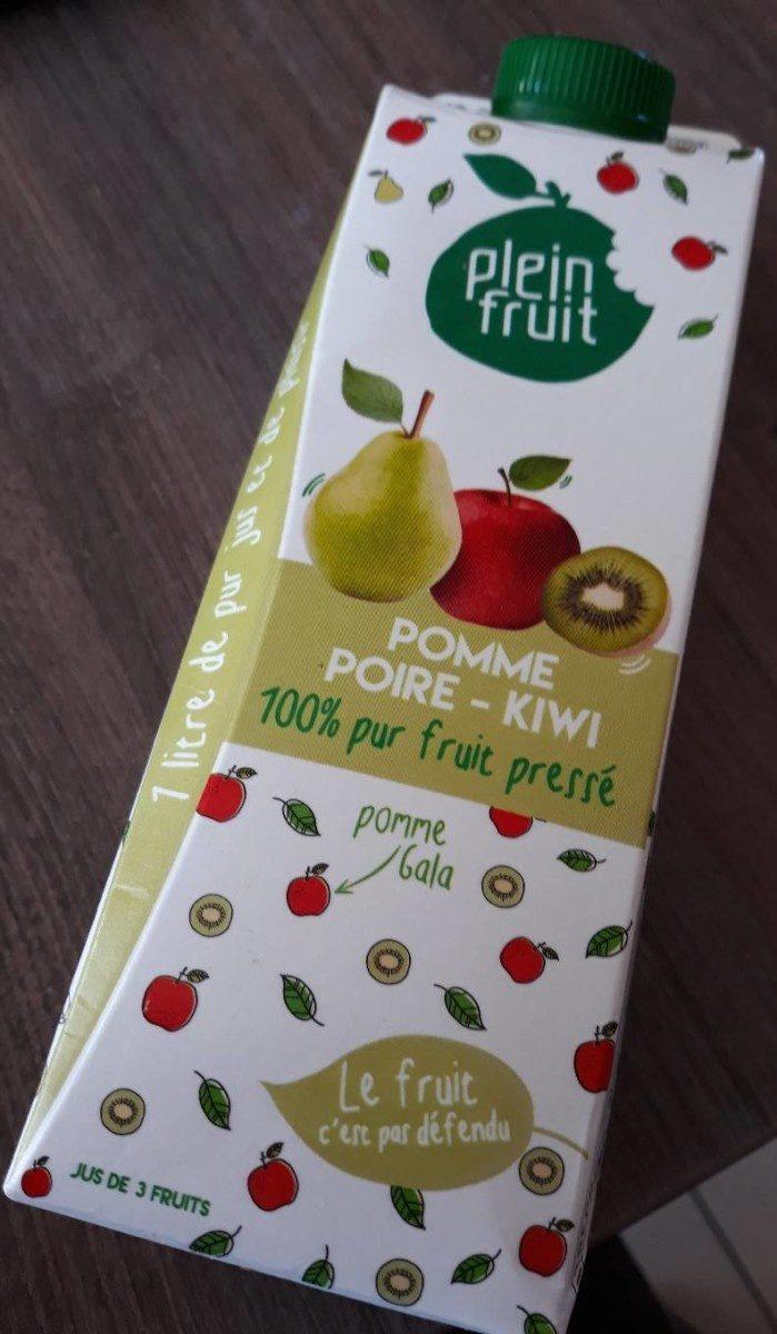Jus Pomme-poire - kiwi - Produit - fr