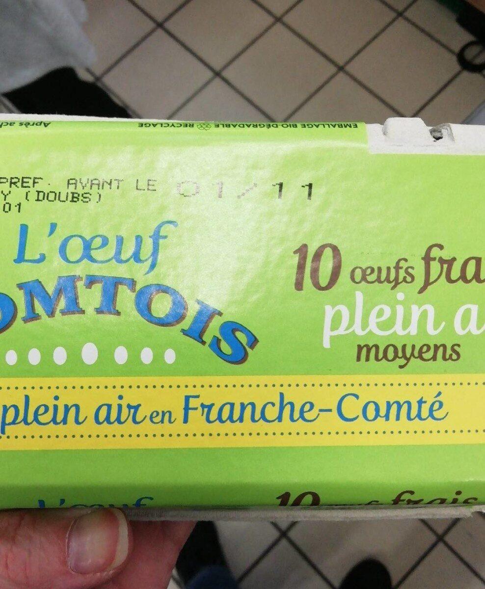 L'œuf comtois - Informations nutritionnelles - fr