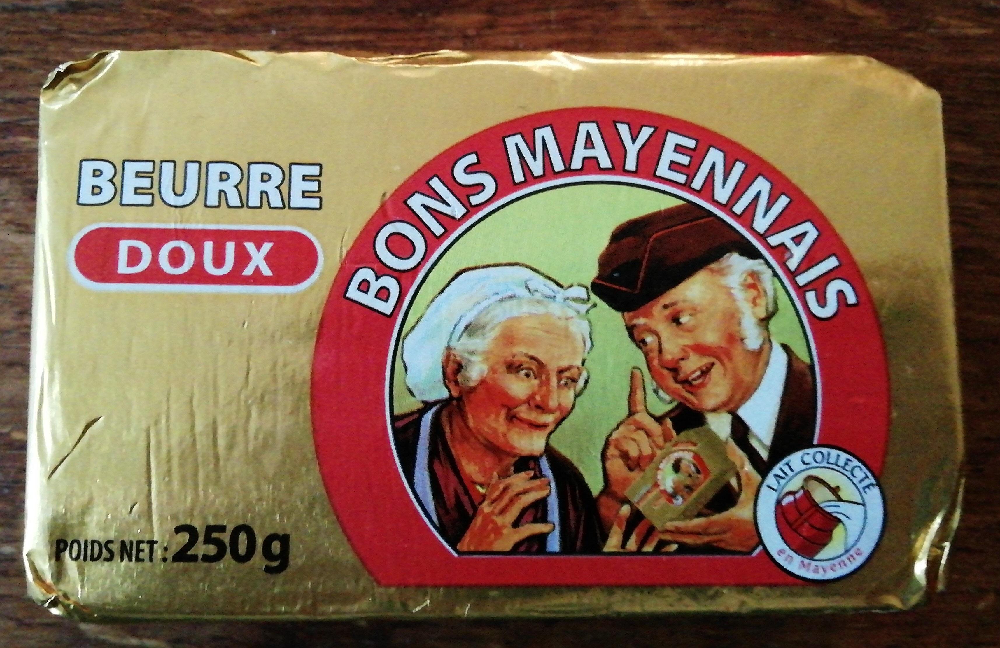 Beurre doux - Produit - fr