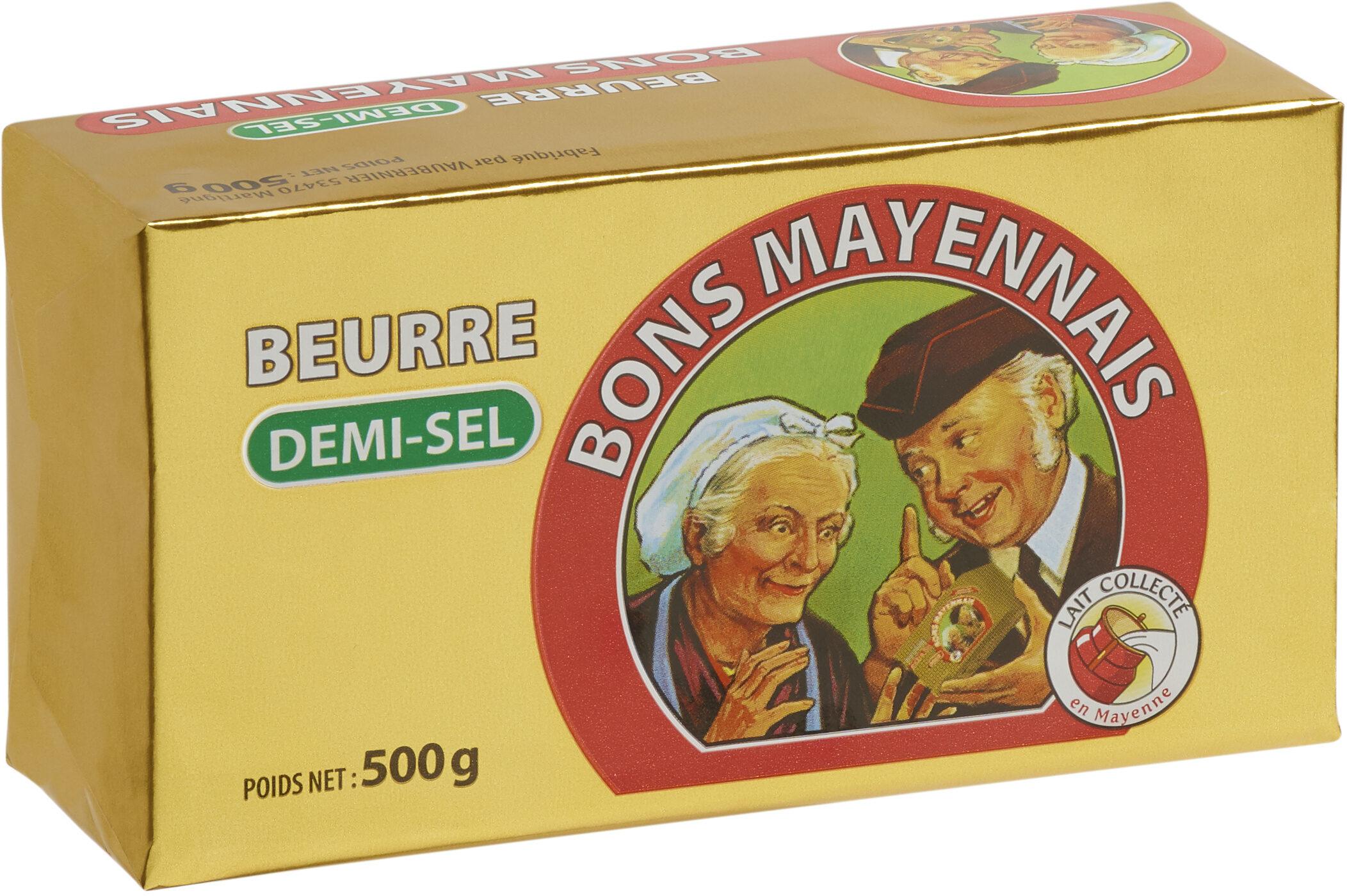 Beurre demi-sel - Produit - fr