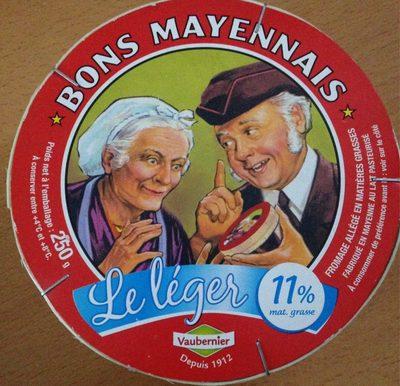 Bons Mayennais Le léger (11% MG) - Produit