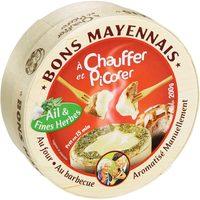 Bons Mayennais à chauffer et picorer Ail & fines herbes - 200 g - Produit