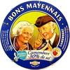 Camembert (23% MG) - 30% de sel - Produit