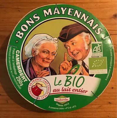Camembert Bons Mayennais (26% MG) - Produit - fr