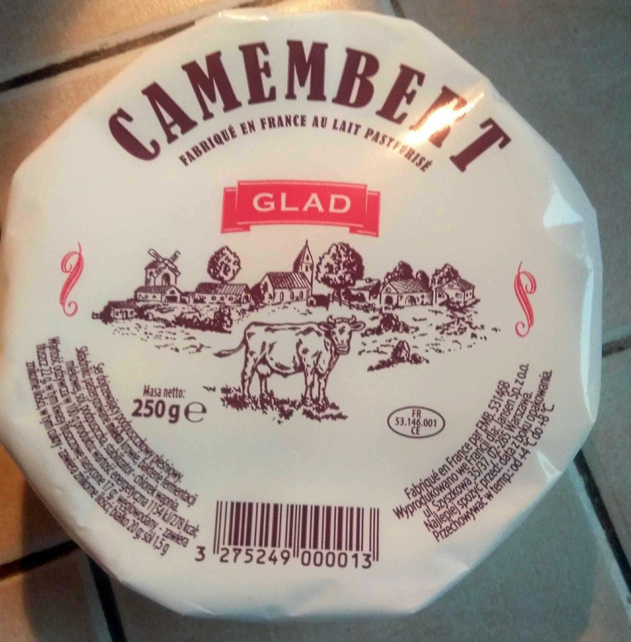 Camembert - Ser dojrzewający podpuszczkowy pleśniowy - Product - pl